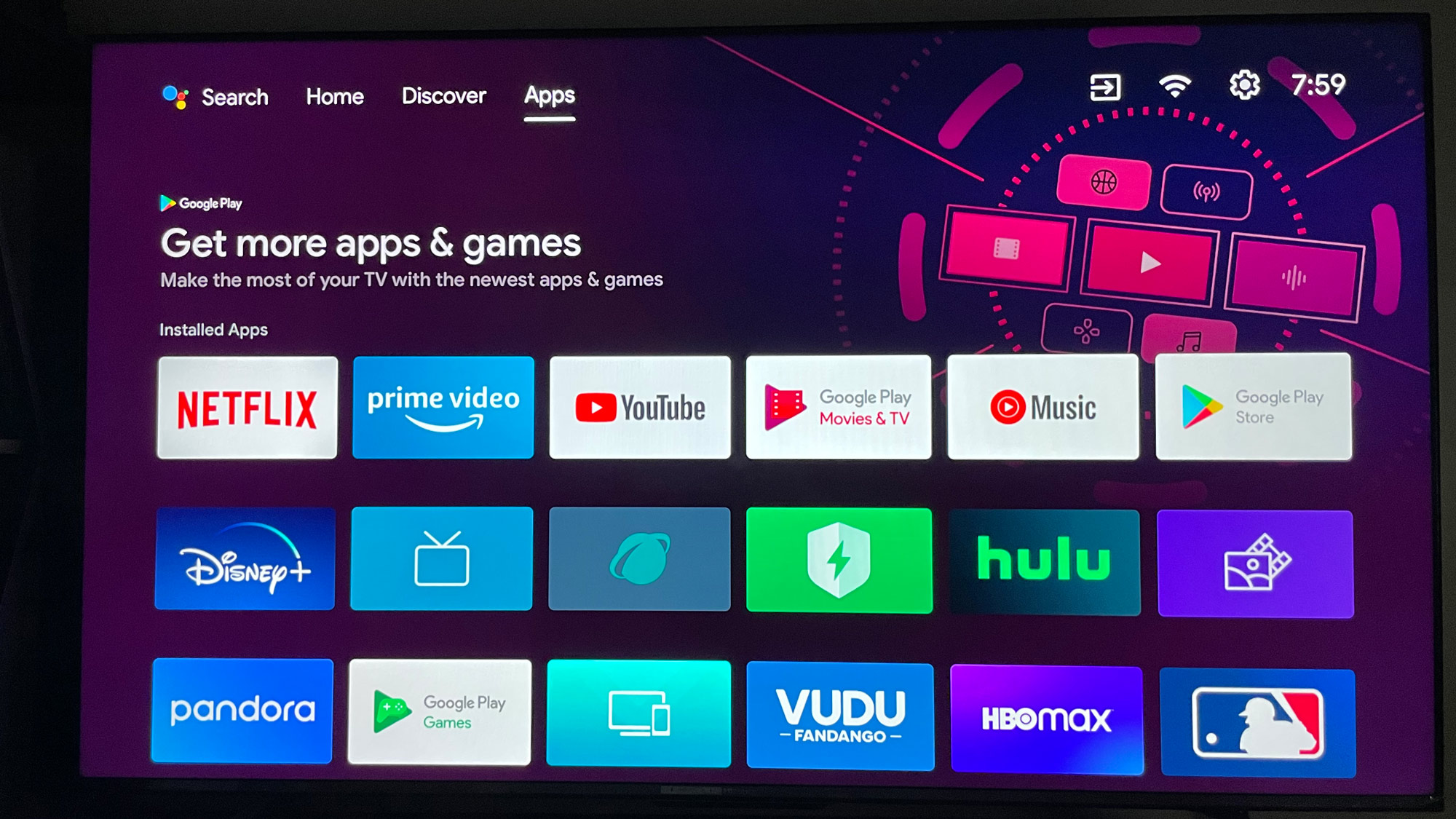 Android TV appstore