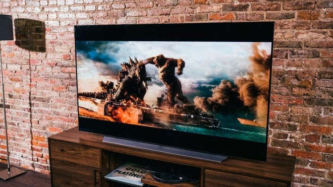 This dazzling screen will blow you away during your next movie night.