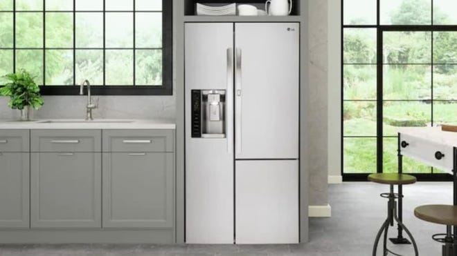 This fridge will become the hub of your kitchen space.