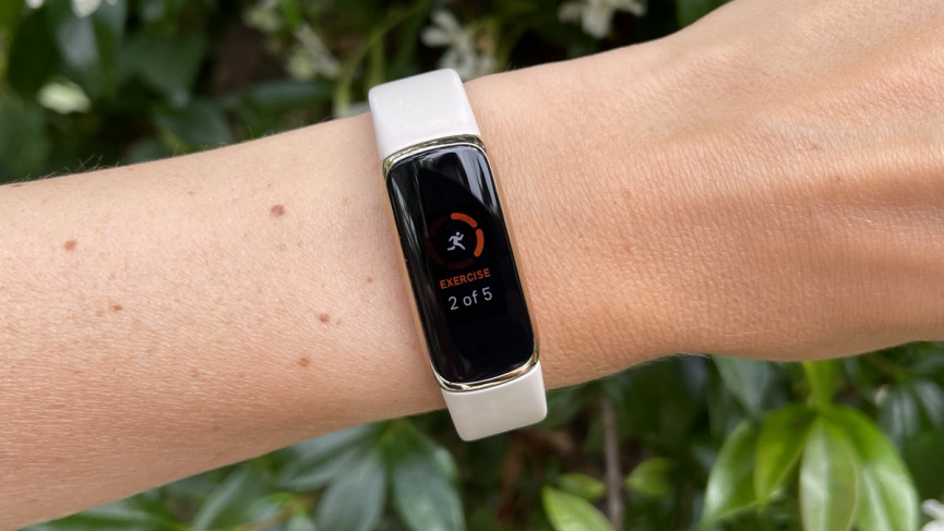 Fitbit Luxe fitness tracking