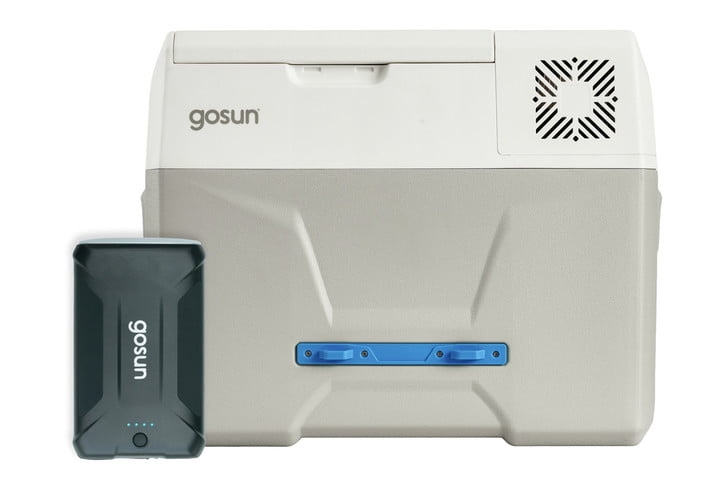 The front of the GoSun Chill Electric Cooler.